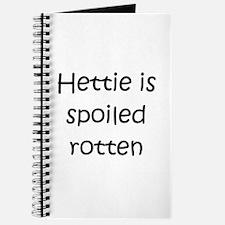 Spoiled rotten Journal