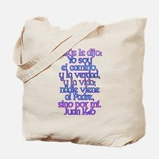 John 14:6 Spanish Tote Bag