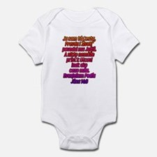 John 14:6 Slovak Infant Bodysuit
