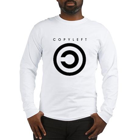 Copyleft Long Sleeve T-Shirt