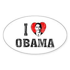I Love Obama Bumper Stickers