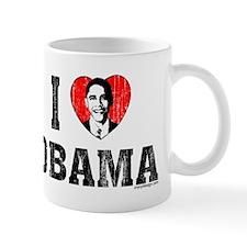 I Love Obama Mug