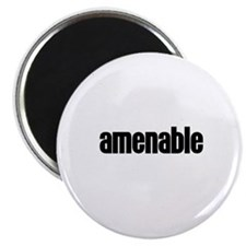 """Amenable 2.25"""" Magnet (10 pack)"""