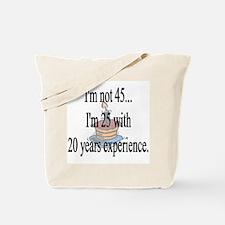 Cute 45 years old Tote Bag