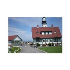 Portland Head Lighthouse Rectangle Magnet