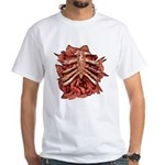 Halloween Zombie Gore White T-Shirt