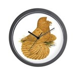 English Trumpeter Deroy Wall Clock