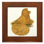 English Trumpeter Deroy Framed Tile