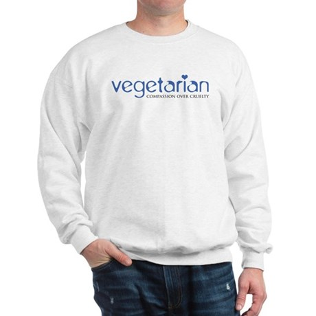 Vegetarian - Compassion Over Cruelty Sweatshirt