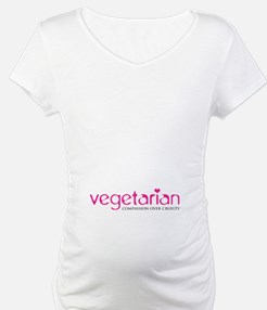 Vegetarian - Compassion Over Cruelty Shirt