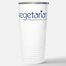 Vegetarian - Compassion Over Cruelty Travel Mug