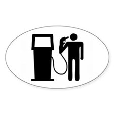 Fuel Prices Oval Decal