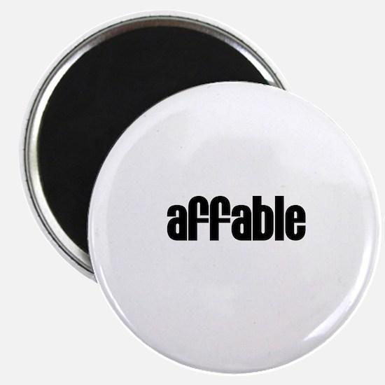 Affable Magnet