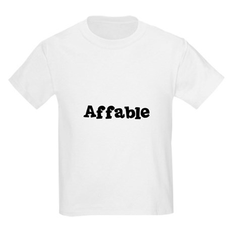 Affable Kids T-Shirt