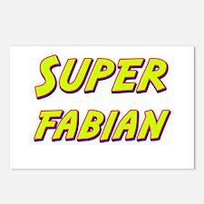 Super fabian Postcards (Package of 8)