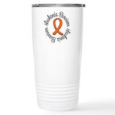 Leukemia Awareness Circle Travel Mug