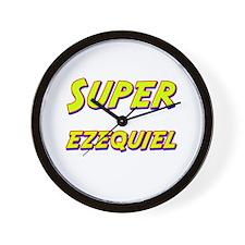 Super ezequiel Wall Clock