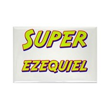 Super ezequiel Rectangle Magnet