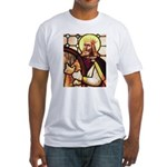 King David the Psalmist Fitted T-Shirt