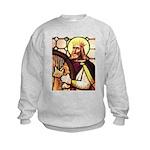 King David the Psalmist Kids Sweatshirt