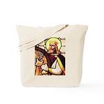 King David the Psalmist Tote Bag