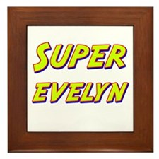 Super evelyn Framed Tile