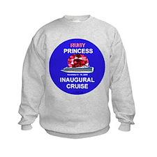 Ruby Princess Inaguaral Cruise- Sweatshirt