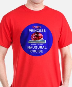 Ruby Princess Inaguaral Cruise- T-Shirt