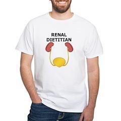 Renal Dietitian Shirt (white)