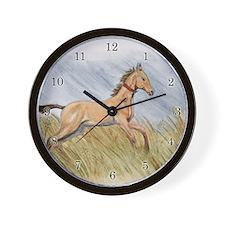 Akhal-Teke Artwork Wall Clock