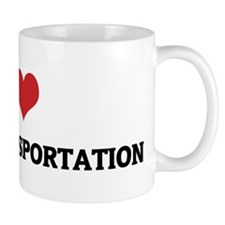 I Love Public Transportation Mug