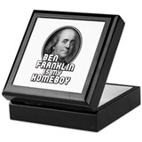 Ben franklin Keepsake Boxes