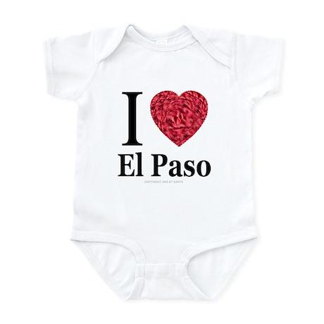 I Love El Paso Infant Creeper