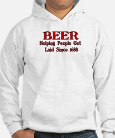 BEER Getting People Laid Sinc Hoodie