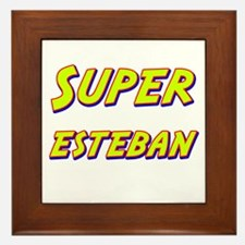 Super esteban Framed Tile
