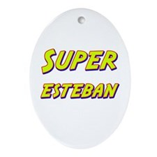 Super esteban Oval Ornament