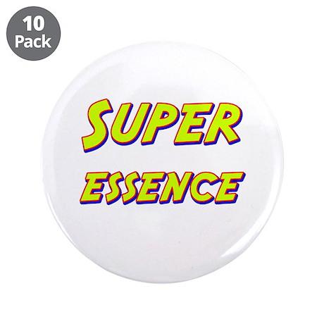 "Super essence 3.5"" Button (10 pack)"