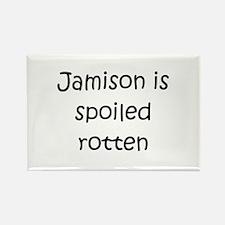 Cute Jamison Rectangle Magnet