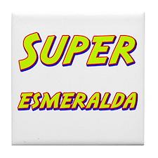 Super esmeralda Tile Coaster