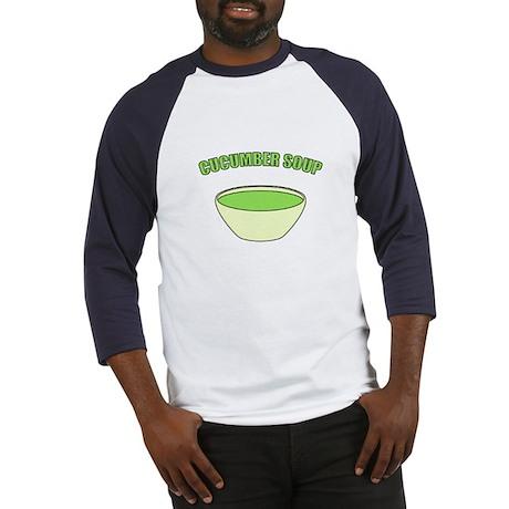 Cucumber Soup Baseball Jersey