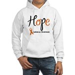 Hope Leukemia Awareness Hooded Sweatshirt