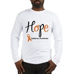 Hope Leukemia Awareness Long Sleeve T-Shirt