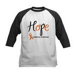Hope Leukemia Awareness Kids Baseball Jersey