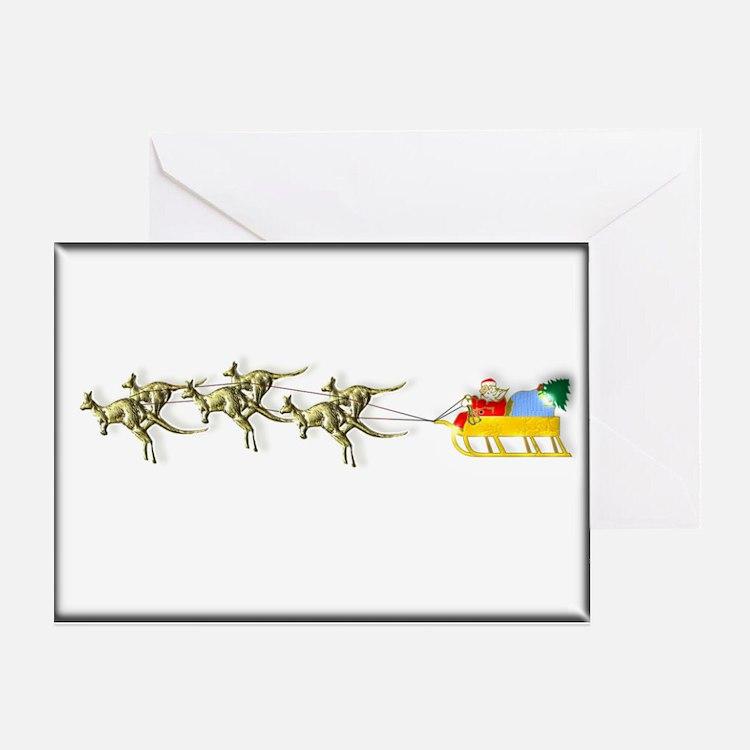 Australian Christmas Cards Greeting Card