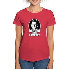 Ronald Reagan Is My Homeboy Tee