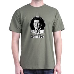 Ronald Reagan Is My Homeboy T-Shirt