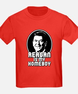 Ronald Reagan Is My Homeboy T
