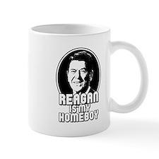 Ronald Reagan Is My Homeboy Mug