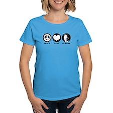 Peace Love Reagan Tee