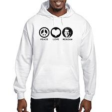 Peace Love Reagan Hoodie